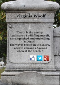 Virginia Woolf's epitaph improved
